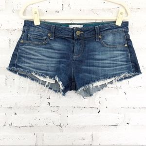 💥 PAIGE Denim Cut Off Shorts